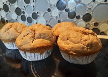 Easiest Way to Make Perfect Banana oat muffins