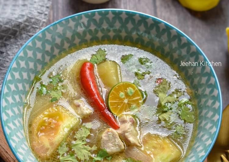 Sup Ayam Budget Mudah - velavinkabakery.com