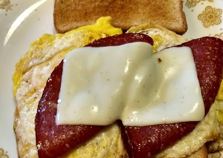 Recipe: Yummy Simple Egg Sandwich