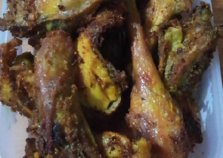 Ayam Goreng Ukep Bumbu Kuning