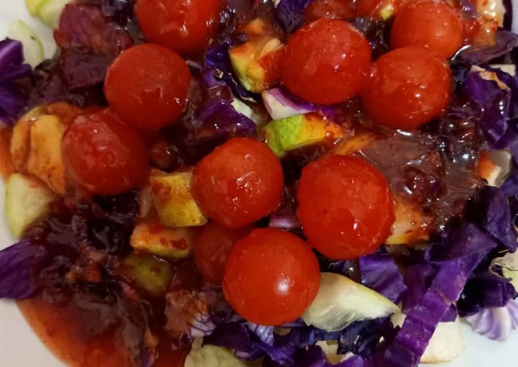 Salad sayur segar dan sehat