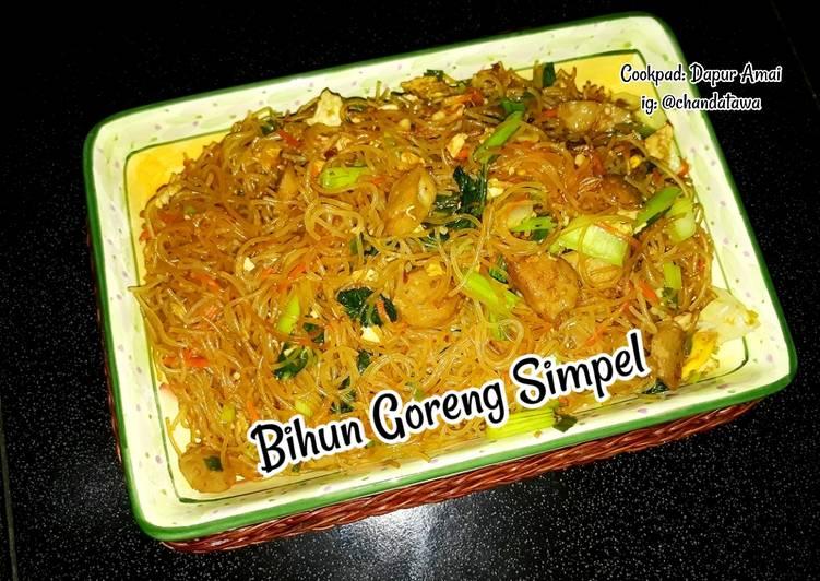 Resep Bihun Goreng Simpel Top
