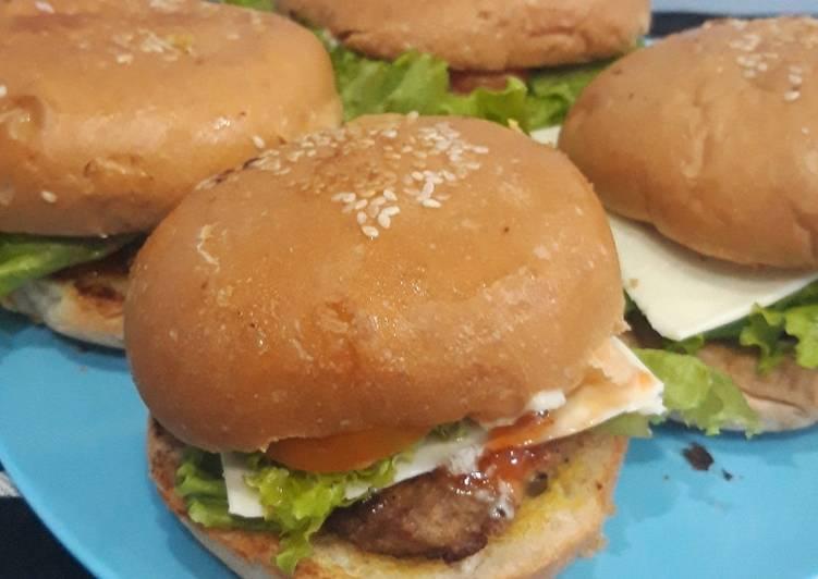 #43 BEEF Burger Sehat Simpel