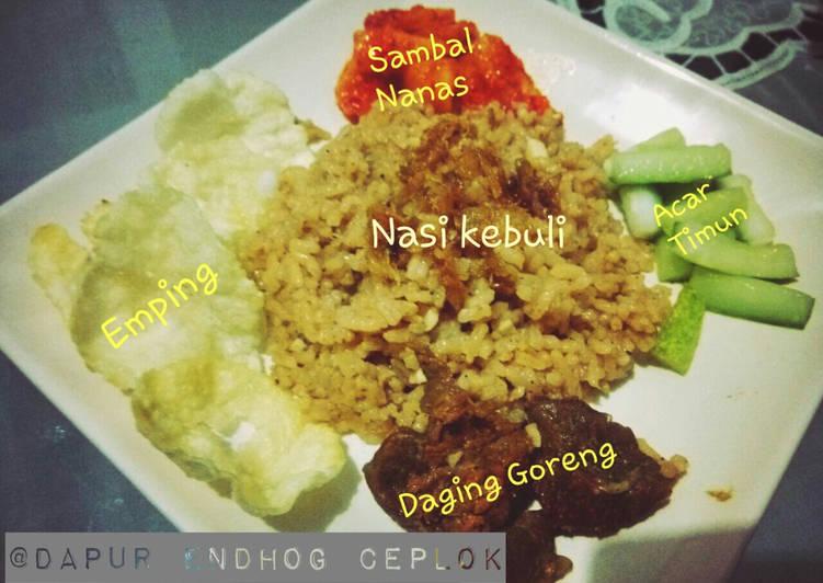 Nasi Minyak alias Nasi Kebuli