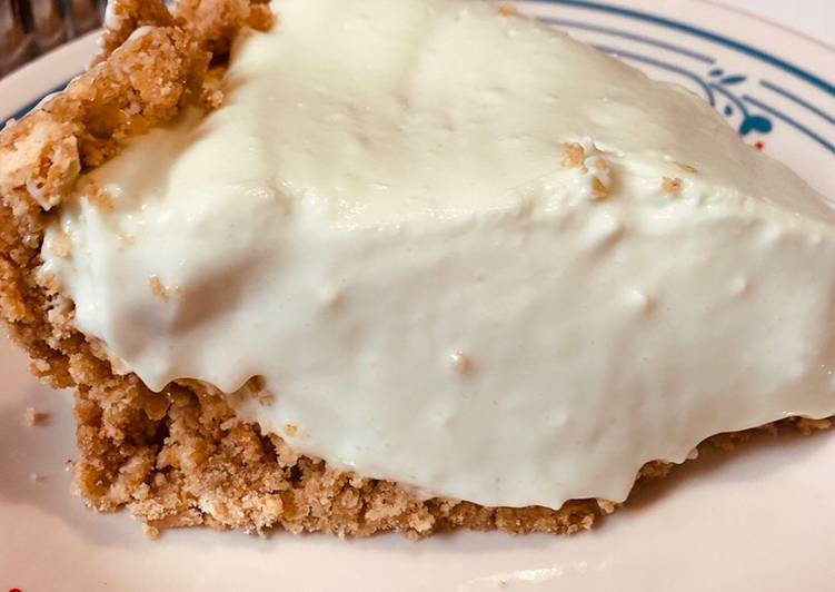 Key lime cheese pie