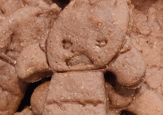 Chocolate Butter Cookies (Healthier version)