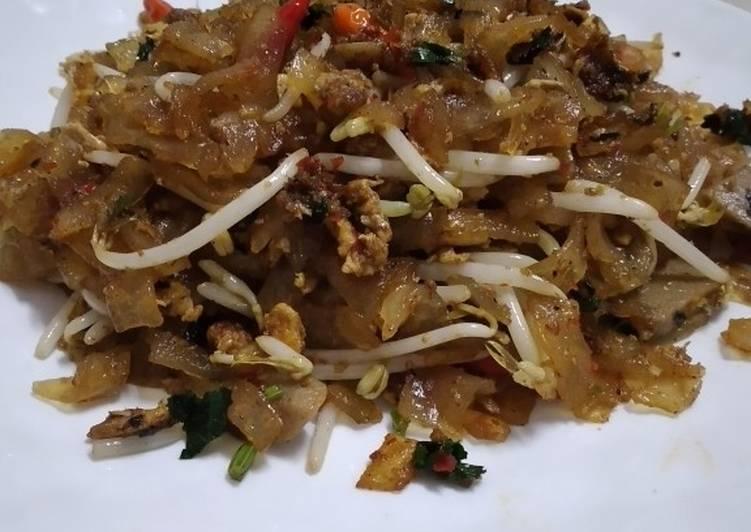 Begini Cara Membuat Mie tiaw goreng yang Lezat