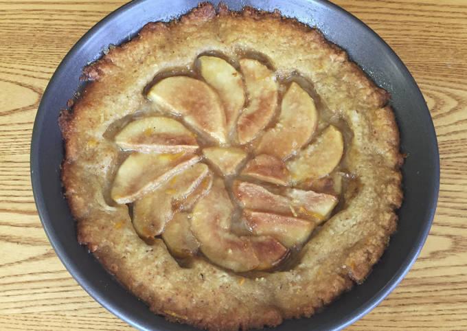 Pear Tart w/ Rum Butter Glaze FUSF