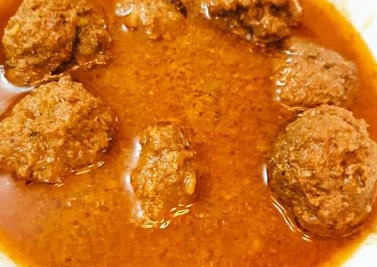 How to Prepare Super Quick Homemade Koftay