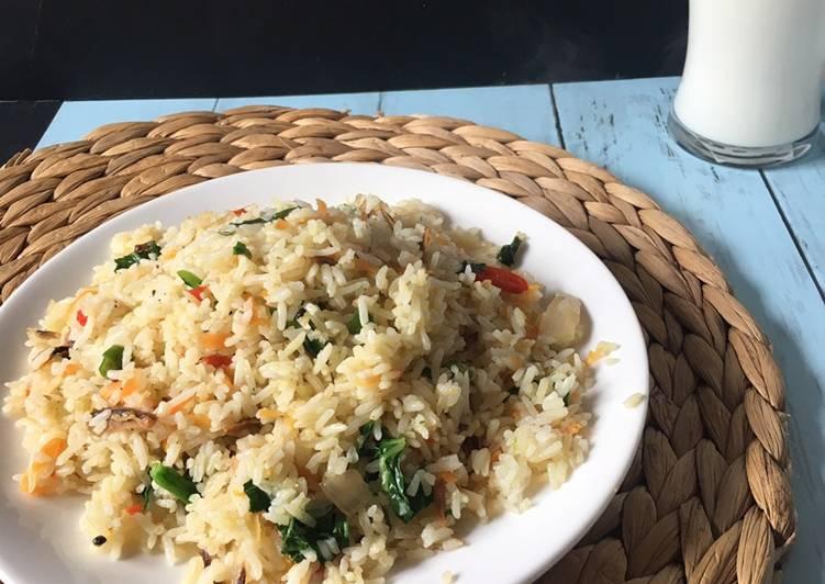 Resepi Nasi Goreng Kampung Kangkung / Nasi Goreng Kampung Malay Fried Rice é©¬æ ¥ç''饭 Nasi