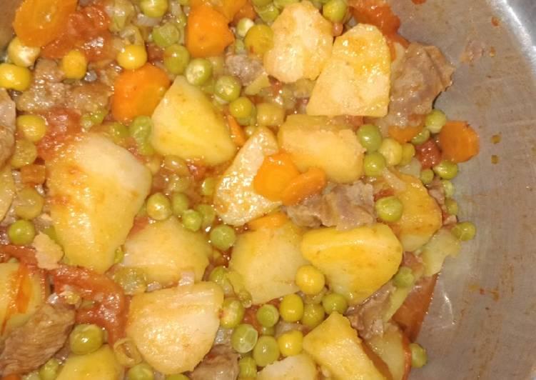 Easiest Way to Prepare Tasty Minji stew#endofyearchallenge