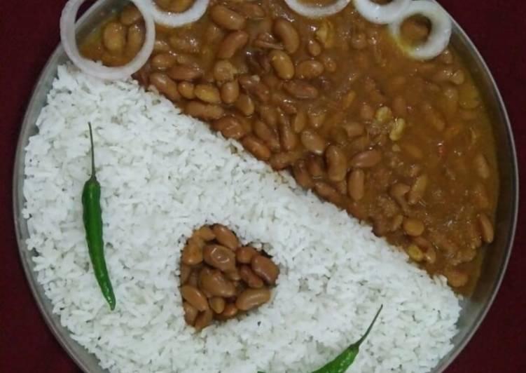 Rajma Chawal - Favourite Lunch