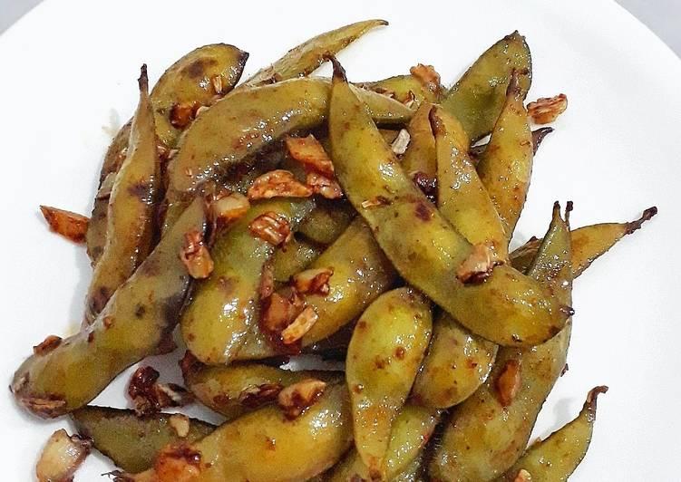 Spicy Stir Fry Edamame