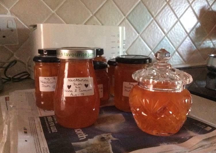 Step-by-Step Guide to Make Homemade Nectarine jam