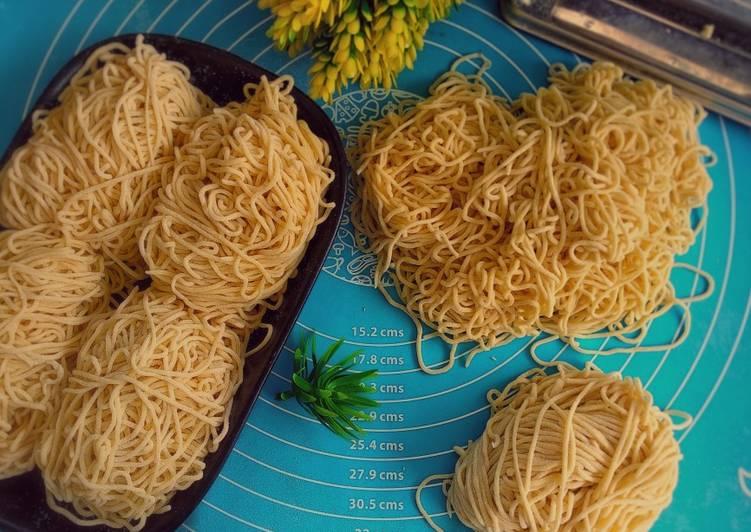 Resep Mie homemade Bikin Laper