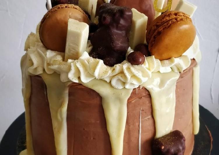 Facile Pas Cher  Molly cake tout chocolat