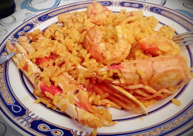 Paella De Marisco Al Horno Receta De Josevillalta Cookpad