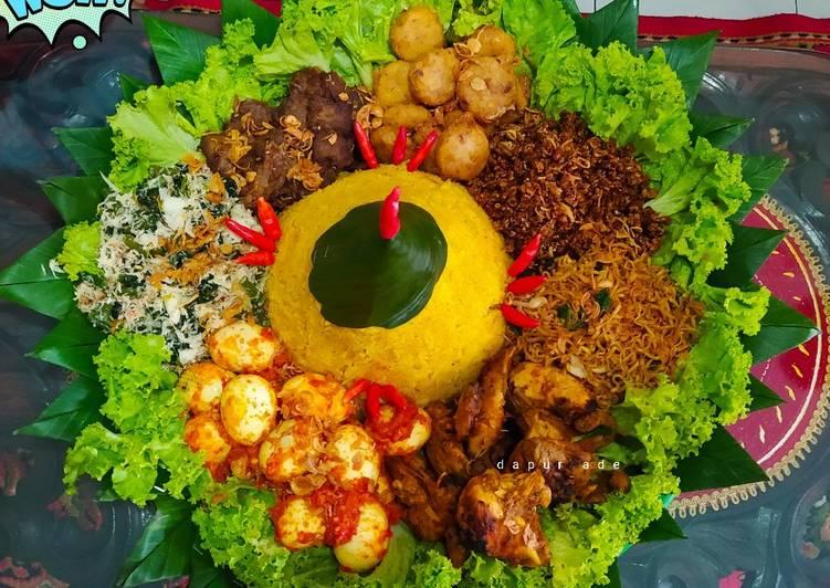 Tumpeng Nasi Kuning Rice Cooker