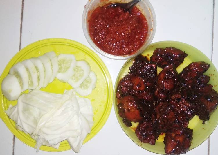 Ayam Bakar (Teflon)