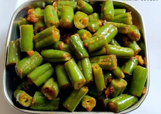 French Beans Sabji