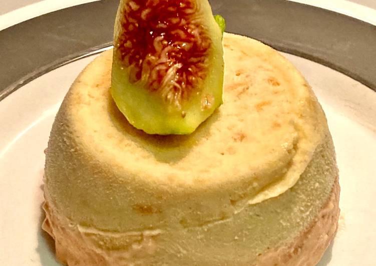 Semifreddo fichi e melone (monoporzione)