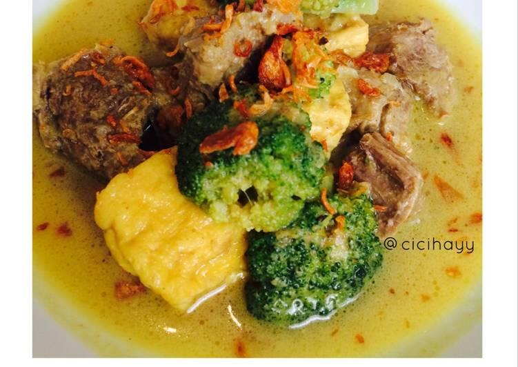 Kare Daging Brokoli