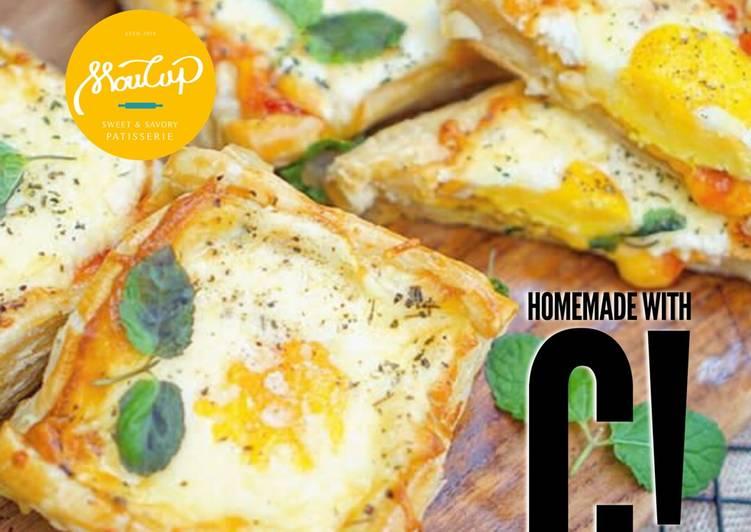 Homemade Pie Telur Mata Sapi