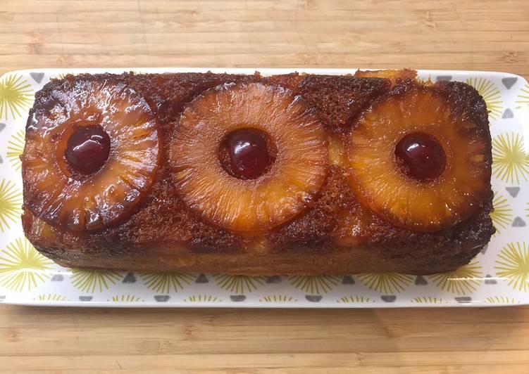 Le moyen le plus simple de Faire Délicieuse Gâteau renversé à l'ananas