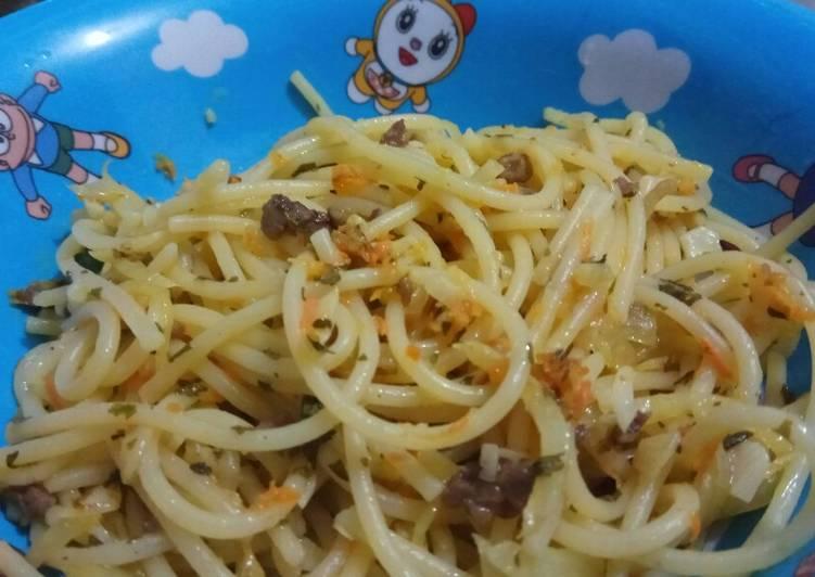 Resep Spaghetti Untuk Anak Umur 2 Tahun Bikin Laper