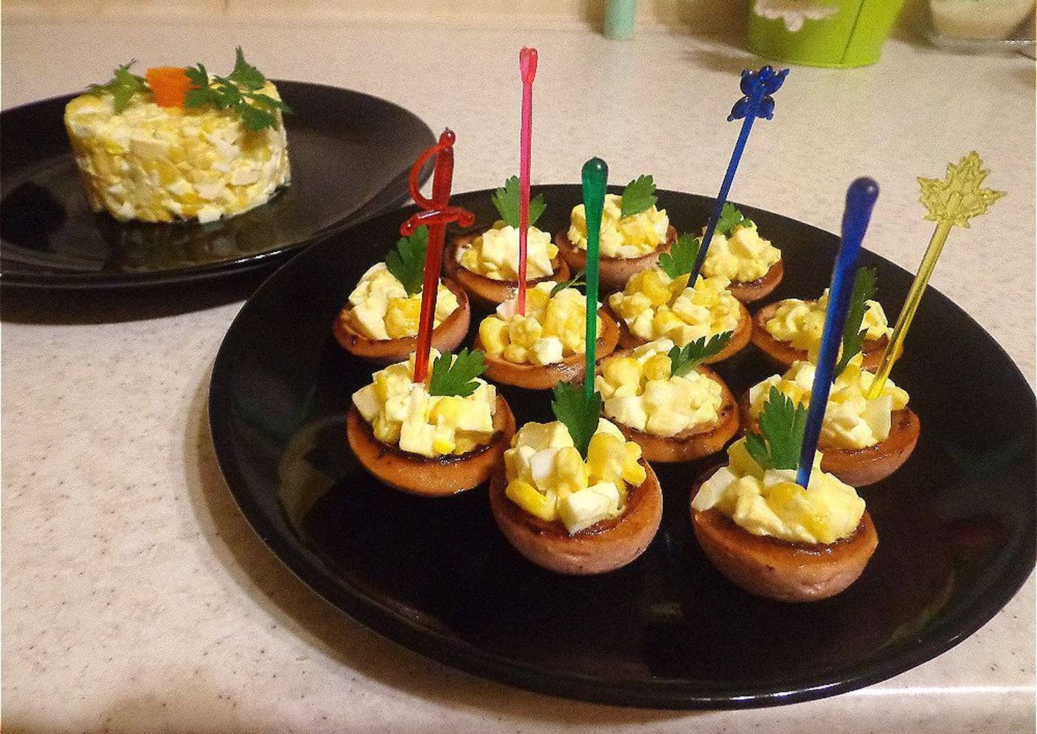 Рецепты канапе с фото на пикник