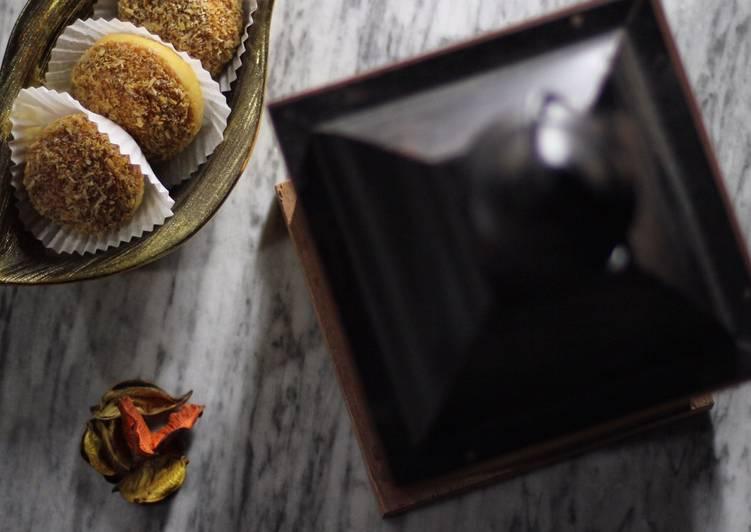 Recette Délicieuse Un gâteau au noix de coco grillées