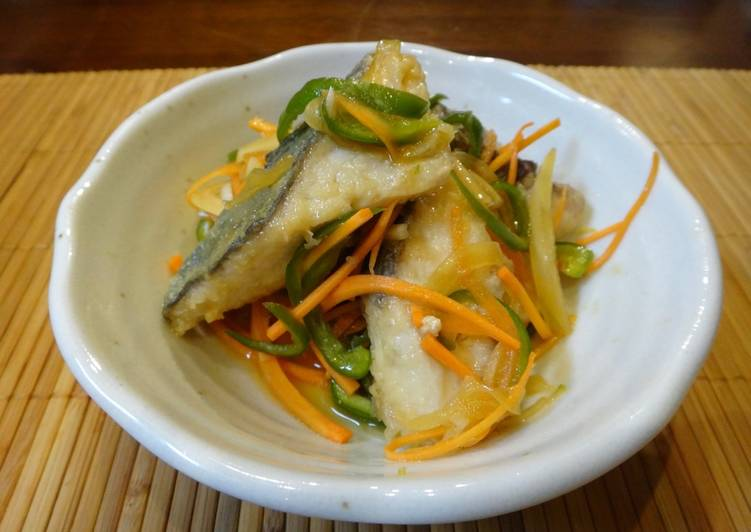 Easiest Way to Cook Appetizing Fish Nanban Zuke  (Japanese style Escabeche)