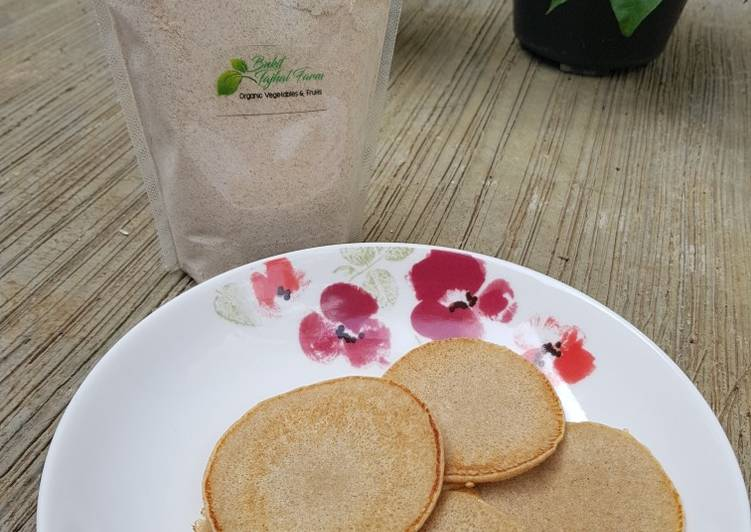 Resep Pancake Gandum (pakai susu oat) Bikin Jadi Laper