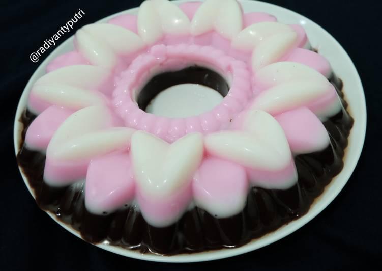 Pudding Susu Lapis