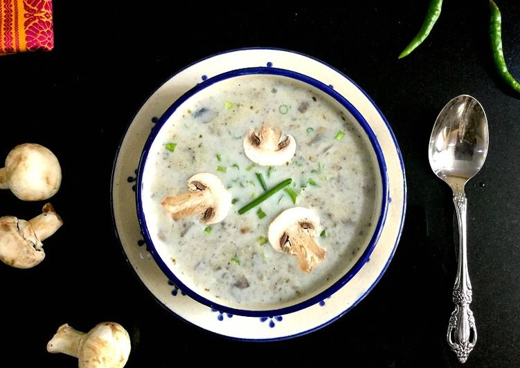 How to Prepare Any-night-of-the-week Creamy Mushroom Soup