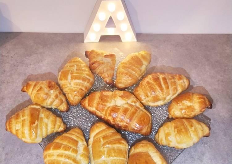 Comment Servir Croissants (pâte levée feuilletée)