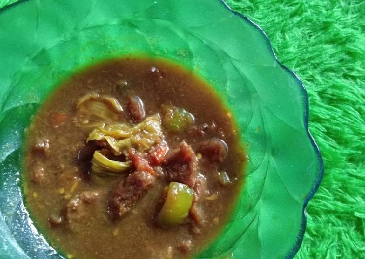Tongseng Sapi TanTan (Tanpa sanTan) - cookandrecipe.com