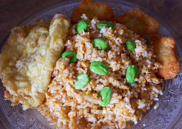 Resep: ✨ 46 Nasi Goreng Pete (tanpa kecap)