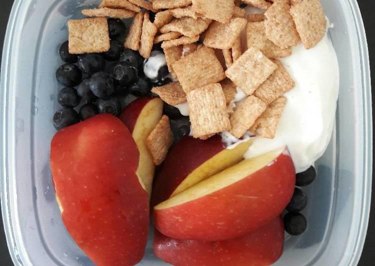 Easy healthy quick breakfast