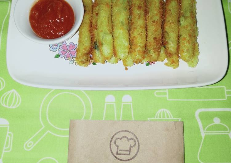 2Stik Kentang Keju Crispy by Uliz Kirei
