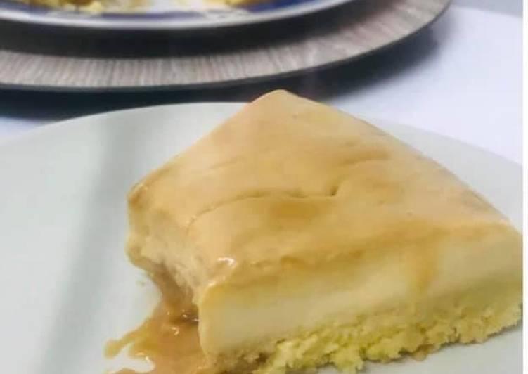 Biscoflan au caramel au beurre salé