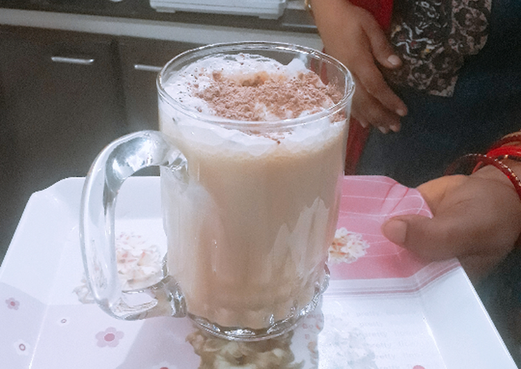 Cold coffee with ice-cream