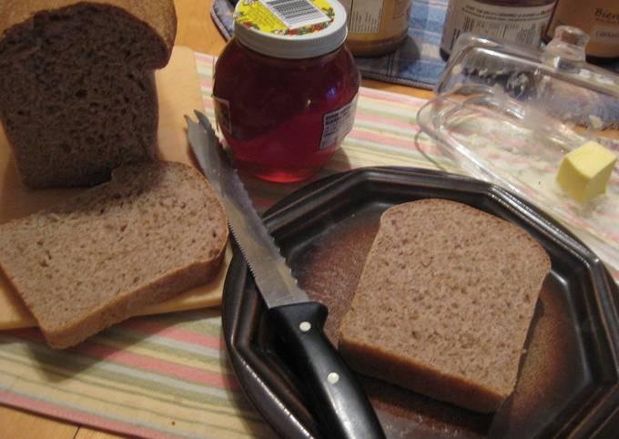 Recipe: Tasty Easy Honey Whole Wheat Bread