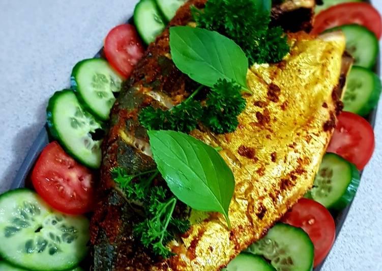 Easiest Way to Make Perfect Ikan Panggang (Oven Bake Trevalle Fish)