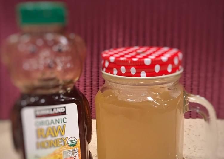 Resep Minuman Herbal (Air Sereh) Paling Gampang