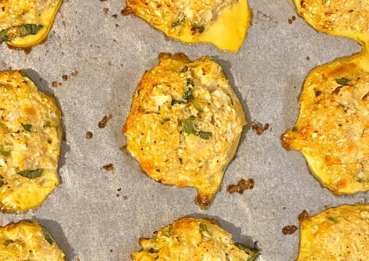 Cheesy Cauliflower Snacks (Cemilan Bunga Kol Keju) Rendah Karbohidrat