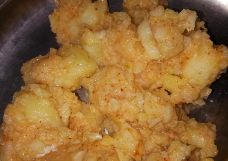 15 Minute Easiest Way to Make Love Navratri special aloo / potatoes