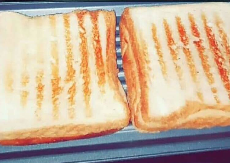 Recipe of Perfect Grill bread