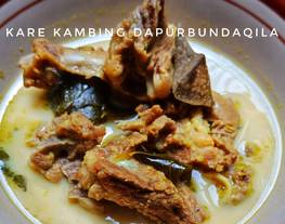 Kare Kambing (masakan rumah sederhana)