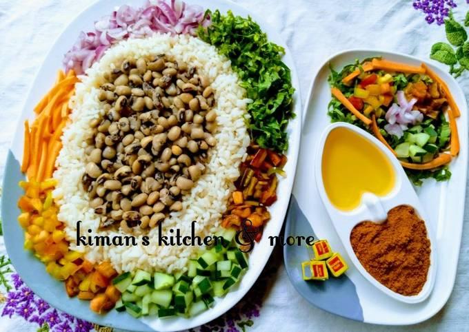 Rice and beans (Garau-garau)